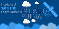 The Internet of Things (IoT), as its name implies, relies heavily on the Internet, but another technology has played a vital role in helping the connected global economy develop, and that is the satellite technology.
