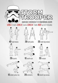 The Empire needs YOU! Get ready to do what is necessary. No-equipment recruitment workout for all fitness levels.
