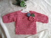 FREE PATTERN! SUMMER MESH SWEATER, makes all sizes - cool crochet!!!