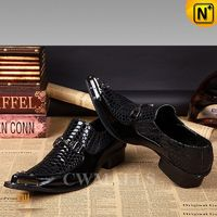 CWMALLS® Embossed Leather Dress Shoes CW751539