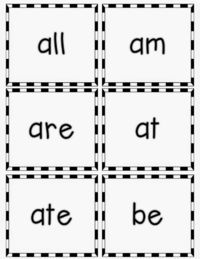 Full set of Dolch Primer Sight Word Cards- FREEBIE