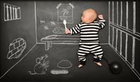 blackboard adventures - Creative Baby Portraits by Anna Eftimie