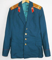 Uniform Jacket Parade Blazer Soviet Russian Army Military Colonel Tunic Small Size $45.00