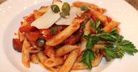 The perfect recipe for Penne Puttanesca from
