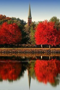 Turner Falls, Massachusetts, not sure who took this photo but it is stunning