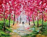 A Favorite Landscape painting by Artist Karen Tarlton, (from her Etsy Shop)