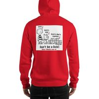 "SPAY AND NEUTER ""DON'T BE A DICK"" SHIRT Hooded Sweatshirt Support your Local Spay and Neuter Facility. 20% of the proceeds will be sent to your local Humane society according to your zip code. $37.50"