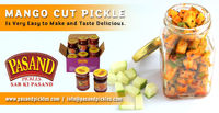 Mango Cut Pickle is very easy to make and taste delicious .