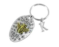 Queen Bee, Bee Keyring, Bee Keychain, Bee Gifts, Bumble Bee
