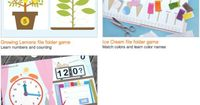 Free printable file folder games from Mr. Printables