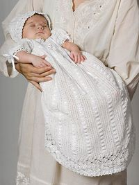 Ravelry: Heirloom Baby Set - Dress pattern by Coats & Clark