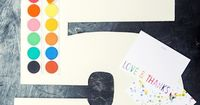 Grab your watercolors and dig into super summer fun with these jumbo printable numbers!
