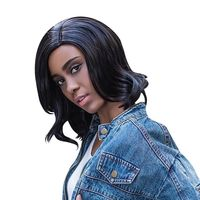 �Ÿ˜�AISIHAIR Women Medium Big Wavy Side Parting Black Synthetic Wigs�Ÿ˜� $7.93