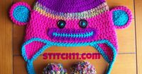 "Adorable in neon! Free pattern too! Thanks for sharing another beauty, Corina! ¯ (�ƒ"") /¯"