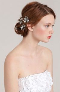 Crystal hairpins - add to a loose bridal 'do