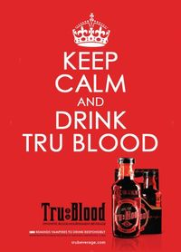 True Blood I actually haven't opened a bottle yet. Waiting to drink it while watching season premiere.