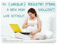 10 Unique Registry Items for New Moms Plus win one of the items in the BabyList Blog http://blog.babyli.st/blooming-bath-giveaway/