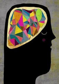 """Esther Schall - Bright Dreams... could be a nice inspiration for """"what's in your mind"""