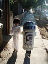 what an adorable star wars costume!