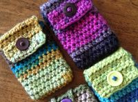 Ravelry: Charismatic crocheted cellphone/iPod cosy pattern by Nicola Newington
