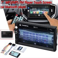 7Inch 2 DIN WINCE Car Stereo Radio MP3 MP5 FM Player HD Touch Screen bluetooth Support Rear View Carema