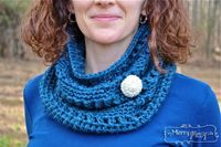 Crochet Cozy Cowl - Free Pattern and Photo Tutorial
