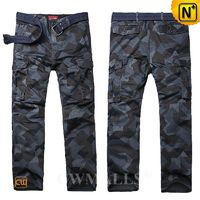 Casual Pants | Men Hunting Camo Cargo Pants CW109009 | CWMALLS.COM