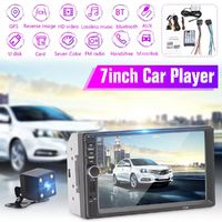 7 Inch 7018G 2 Din for Android Car Radio Stereo Auto MP3 MP5 Player GPS bluetooth Wifi Handsfree FM With Rear Camera