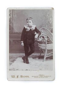 Antique Cabinet Photo Young Boy Vintage Photography Boys Fashion Victorian Photograph CC#10014 $15.00