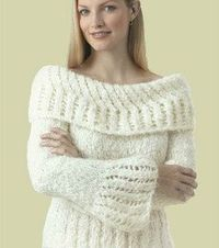 Free Pattern ~ Divine Sweater (knit)