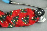 Stethoscope Cover - Christmas Trees $7.99