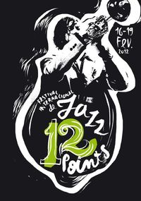 12 Points Jazz Festival by Sara Westermann, via Behance
