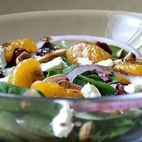 Tastes of Fall & Winter, 'Fort Tejon Holiday Salad' - (Dress with Balsamic or Raspberry Vinaigrette) Allrecipes.com