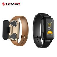 Fitness Tracker with Built-in Bluetooth Headphones $99.98