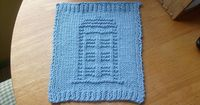 Tardis Dishcloth. Not sure if this is funny or awesome.