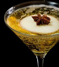 Make an apple pie martini or mocktini recipe for the quintessential fall and winter martini recipe. A little bit of allspice, that great blend of clove, cinnamo