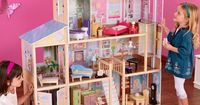 Have to have it. KidKraft Majestic 4 Story Mansion $199.98 I'm loving this for Emery! We wouldn't really have room for it, looks huge! lol