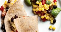Black Bean Recipe: Quesadillas With Corn Salad