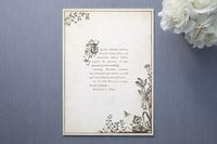 storybook stationery, romantic but grayscale