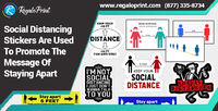 Social Distancing Stickers Are Used To Promote The Message Of Staying Apart.jpg