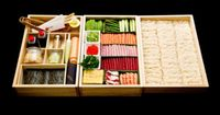 How insanely beautiful is this VIP sushi to-go box from Nobu? Not sure wether topostit under food, art, diy, or organising lol