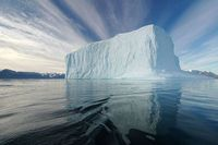 A Mighty Iceberg inGreenland's Northeast Greenland National Park