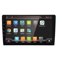 YH-518 10 Inch 2 DIN for Android 8.0 Car Stereo Radio Player 4 Core 2+32G Touch Screen 4G bluetooth FM AM RDS Radio GPS