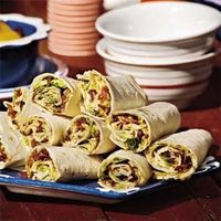 Wrap sandwiches are so versatile. You can fill them with your favorite meats and condiments for an array of options. Individually wrap them in plastic wrap or s