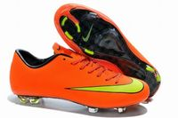 Nike Mercurial Victory X FG 2015 World Cup Soccer Cleats Orange Yellow
