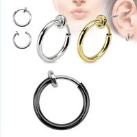 Invisible Clip Earrings