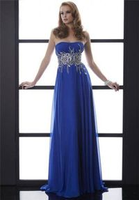Long Royal Beaded Prom Dresses 2014 Jasz Couture 5009