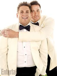 Comedy buddies Channing Tatum and Jonah Hill talk about their �€odd-couple�€ dynamic, creative synchronicity, and�€�if Jonah had �€lady parts�€?