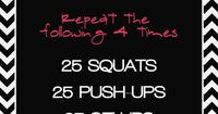 go to no equipment needed workout