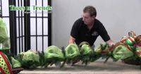 How To Decorate a Garland for Christmas - video
